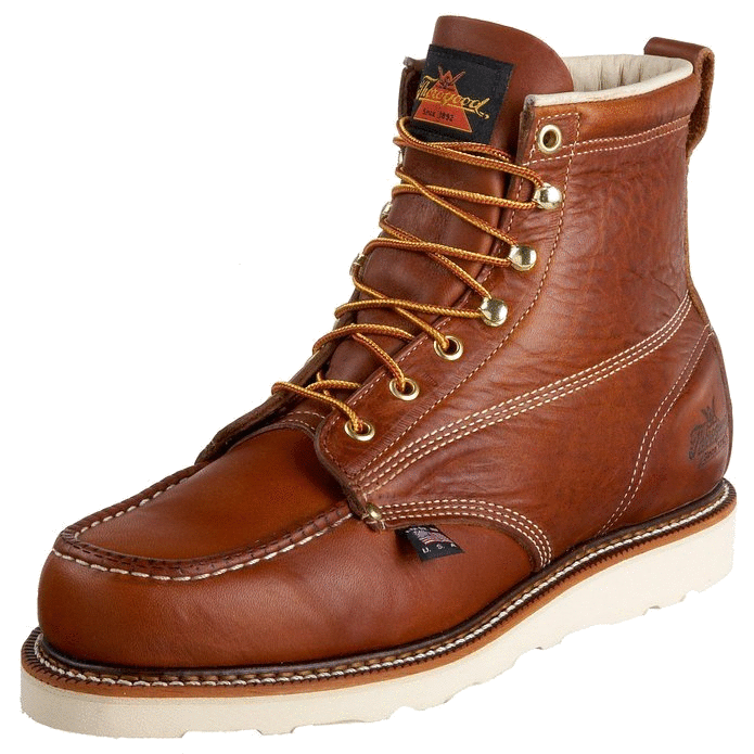 Thorogood Men's American Heritage 6-Inch Moc Toe Boot