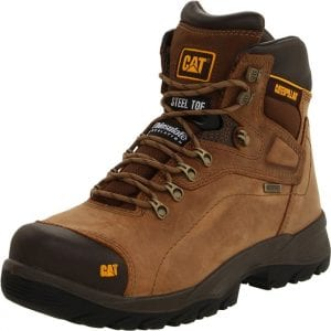 best waterproof steel toe work boots Caterpillar Men's Diagnostic Waterproof Steel-Toe Work Boot