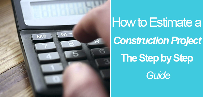 how to estimate in construction