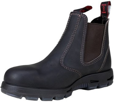 Redback Safety Bobcat USBOK Elastic Sided Steel Toe Leather Work Boot