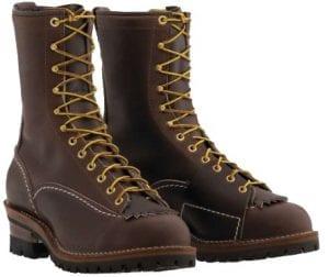 Wesco Highliner Brown Lineman Boots