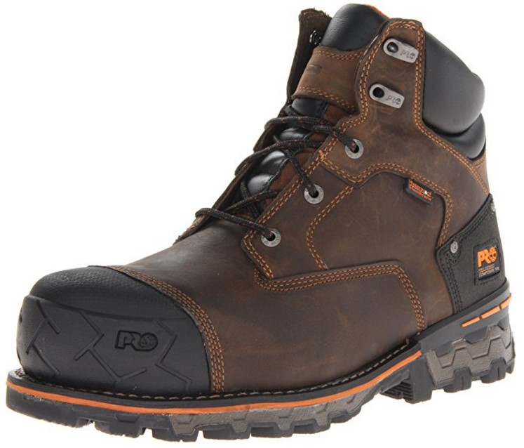 best work boots for bad knees Most Durable Pair: Timberland PRO Boondock Waterproof Industrial Work Boots