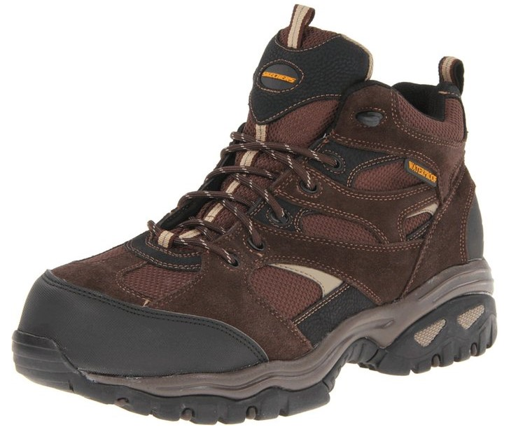 best composite toe work boots The Cheap but Great Composite Toe Boots: Skechers for Work Men