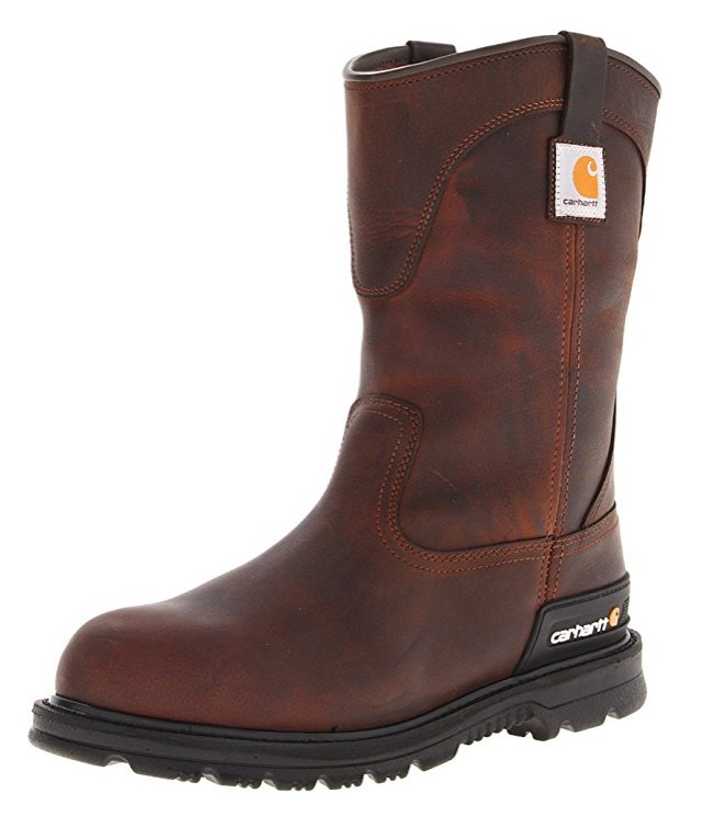 best pull on work boots Best Value Pull-On Work Boots: Carhartt Men´s CMU1242 Work Boot