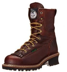 Georgia Steel Toe Logger Boots