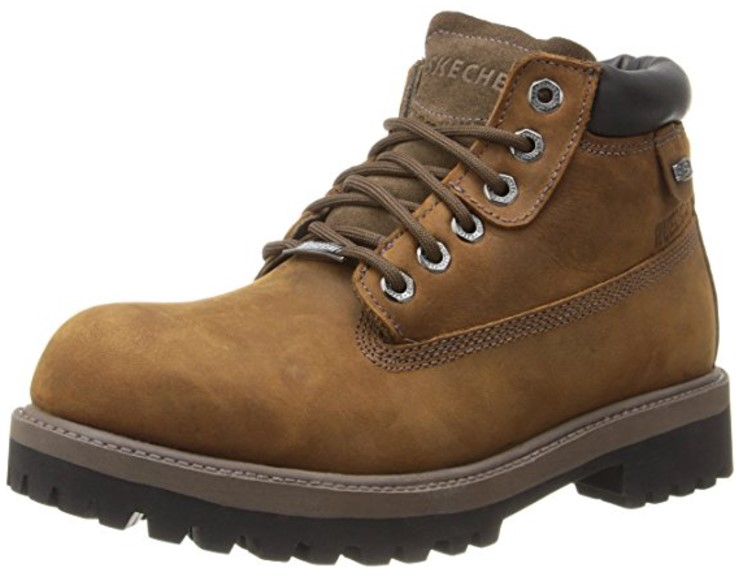 most comfortable waterproof boots Best Price Waterproof Work Boots: Skechers USA Men