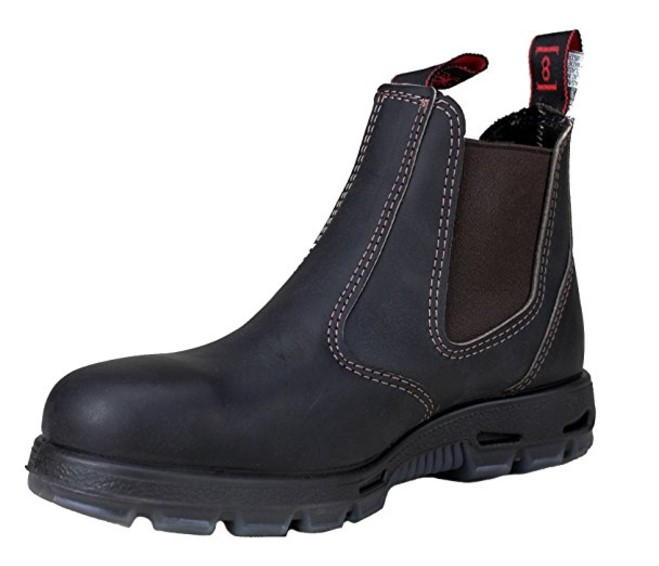 best slip on work boots Redback Men