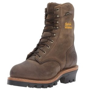 """Chippewa 9"""" Steel-Toe Work Boots for Linemen"""