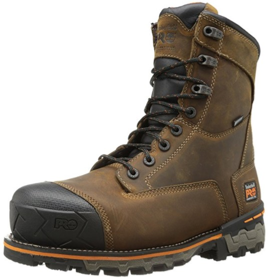 "best waterproof insulated work boots Timberland PRO ""Boondock"" Waterproof Insulated Work Boot W/ Comp or Steel Toe"