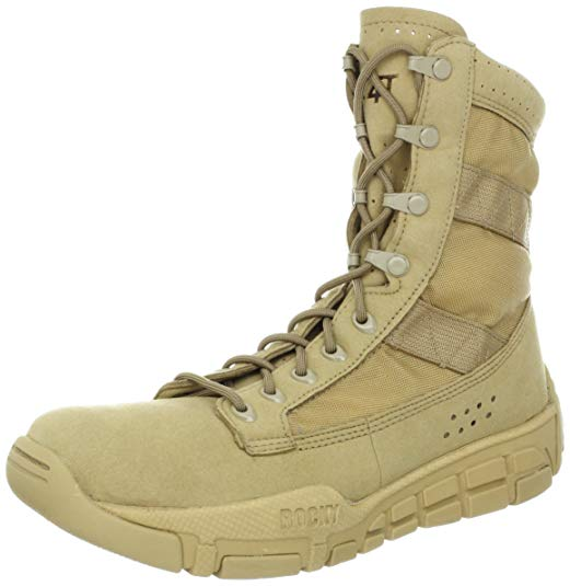 Best Work Boots For Women 3) Rocky C4T Tactical Boots
