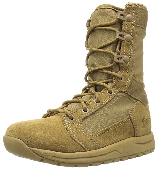 Best Work Boots For Women 5) Danner Tachyon Coyote Military and Tactical Boots