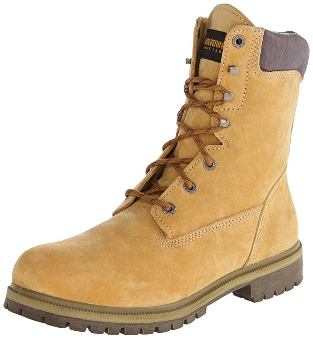 """Best Wolverine Boots Reviews 3) Wolverine Waterproof Insulated 8"""" Work Boots"""