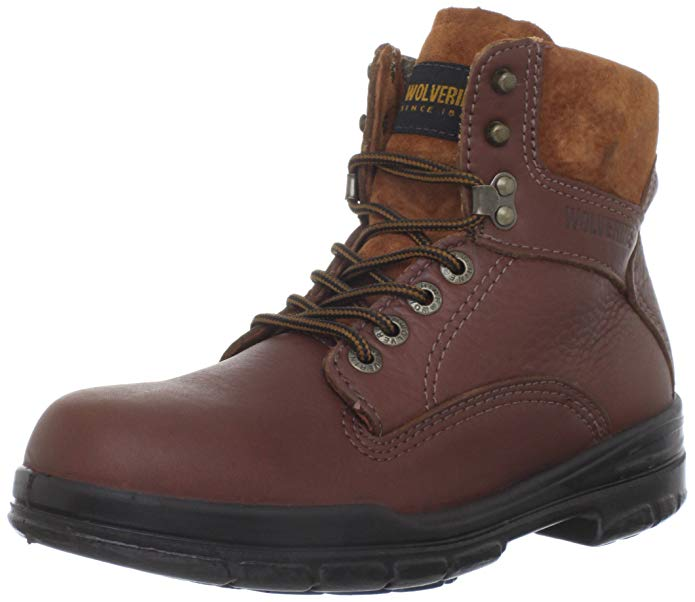 "Best Wolverine Boots Reviews 5) Wolverine SR Direct-Attach 6"" Work Boots"