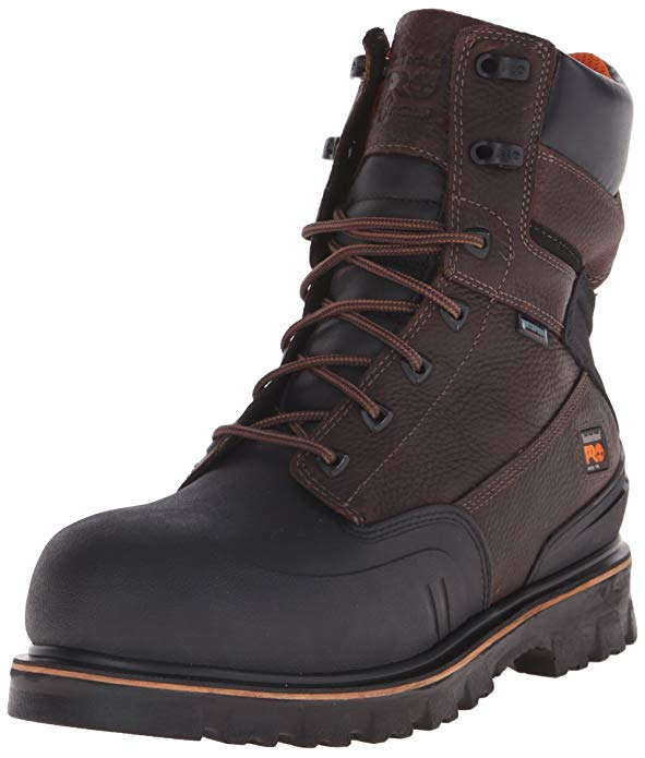 "Best Boots For Pipefitters 5) Timberland PRO 8"" Rigmaster XT Steel-Toe Pipefitters Boot"
