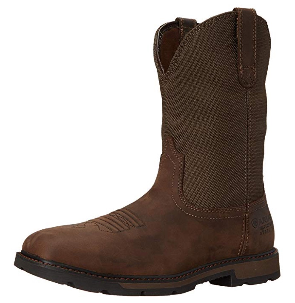 Best Oil Rigger Work Boots 2) Ariat Men