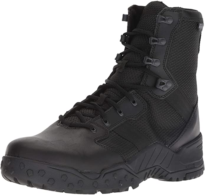 """Best Shoes For Security Guards 4) Danner Scorch 8"""" Side-Zip Boots for Security Guards"""