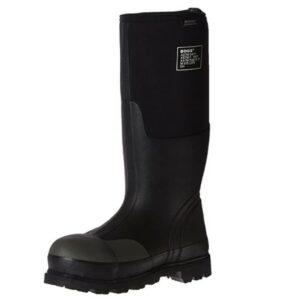 Bogs Men's Forge Steel Toe Waterproof Rubber Work Rain Boots