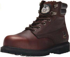 Georgia Boot Men's Oiler-M Georgia Steel Toe Work Boot